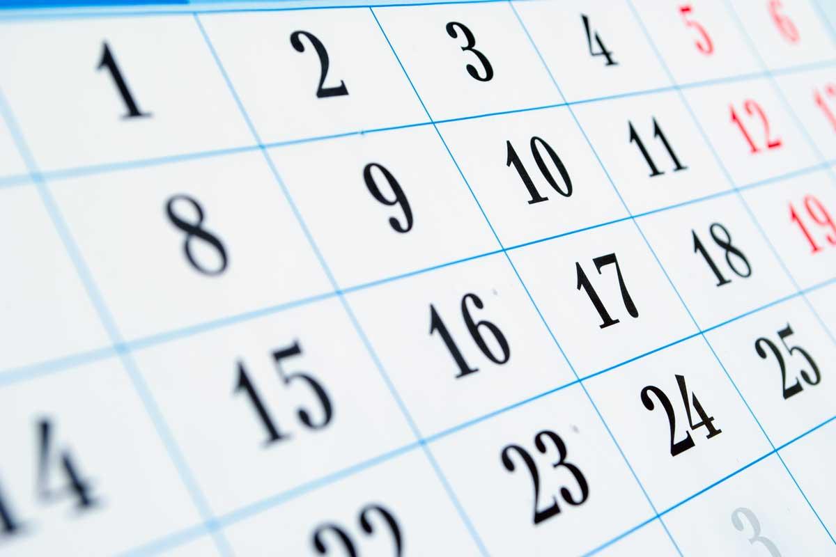Calendar - Acquality Pool Service