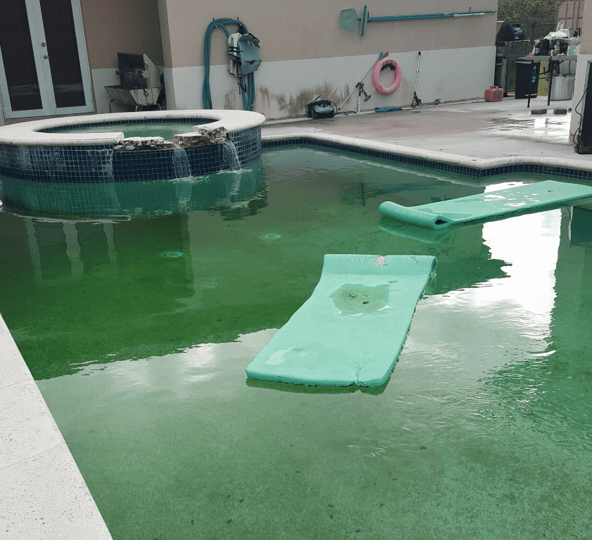 Green Pool - Acquality Pool Service