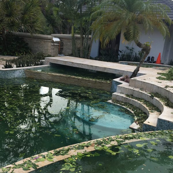 Pool After Hurricane Acquality Pool